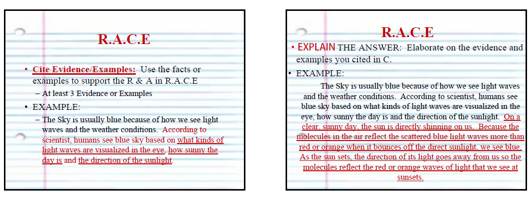 difference between short answer essay questions